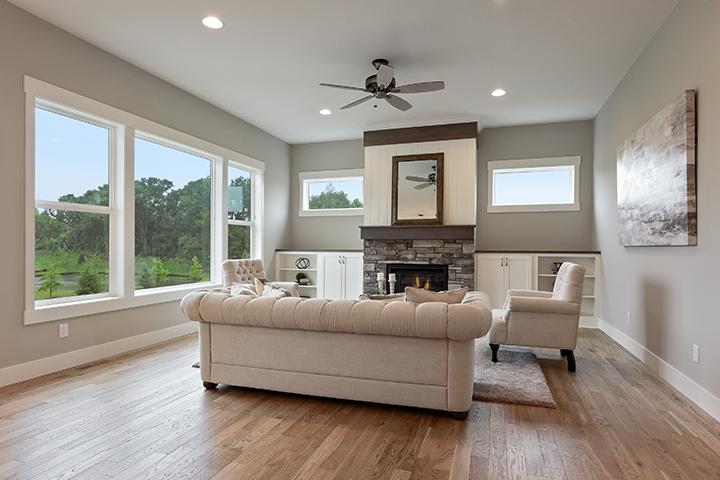 Living room at 4187 Summerbrooke